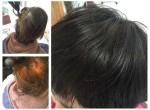 【お客様ヘア】2ヶ月連続ハナヘナで白髪染め!ツヤが出すぎてワロタわ。